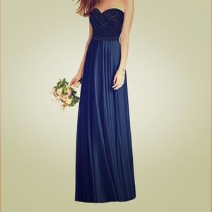 Navy Prom or Bridesmaid dress